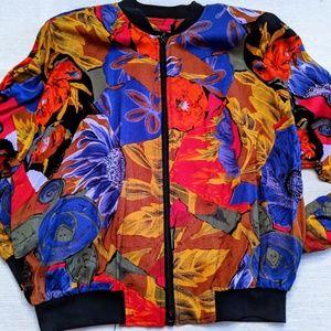 Vintage 1980s bright jacket medium